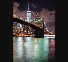 Brooklyn Bridge & Freedom Tower Unisex T-Shirt