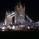 Tower Bridge at Night by Lennox George