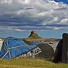 Lindisfarne Castle by David Pringle