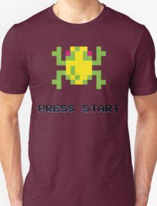 FROGGER RETRO PRESS START ARCADE TSHIRT Unisex T-Shirt