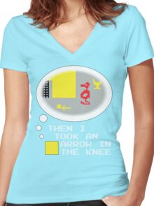 The Elder's Adventure Women's Fitted V-Neck T-Shirt