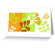 Leaves2 Greeting Card