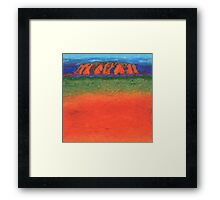 Uluru Australis Framed Print