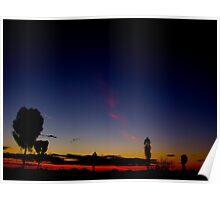 Uluru Dusk Poster