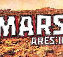 Greeting From Mars/The Martian  by the-birdman