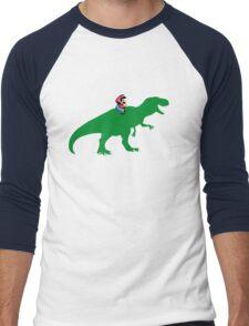 Yoshisaurus Tee Men's Baseball ¾ T-Shirt