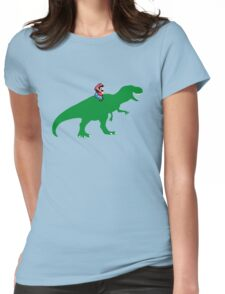 Yoshisaurus Tee Womens Fitted T-Shirt