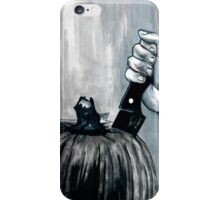 Carve It To Death iPhone Case/Skin