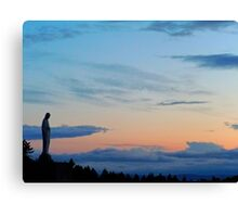 Virgin Mary Statue 1 Canvas Print