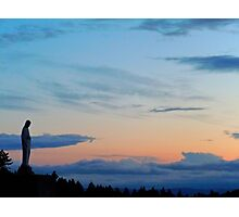 Virgin Mary Statue 1 Photographic Print