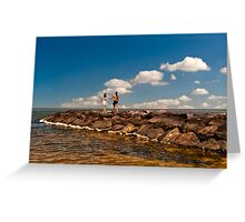 Love is Life-2 Greeting Card