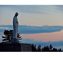 Virgin Mary Statue 2 Photographic Print