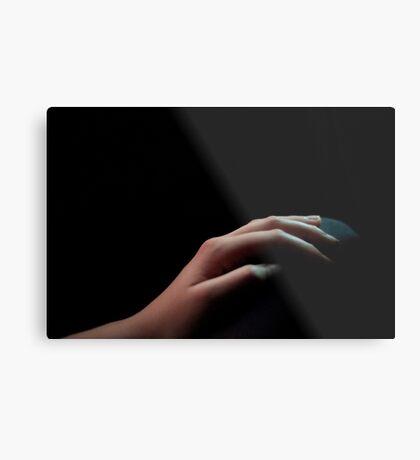 Your Hand Metal Print