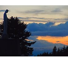 Virgin Mary Statue 3 Photographic Print