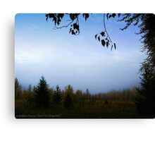 My October (Great Northern Flats, Montana, USA) Canvas Print