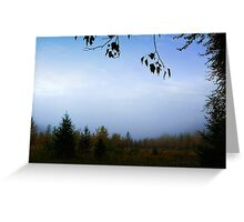 My October (Great Northern Flats, Montana, USA) Greeting Card