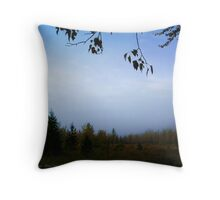 My October (Great Northern Flats, Montana, USA) Throw Pillow