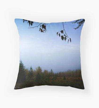 My October (Great Northern Flats, Montana, USA) Throw Pillow