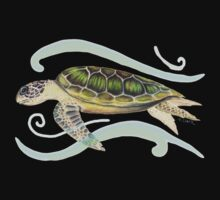 Green Turtle (Chelonia mydas) Kids Clothes