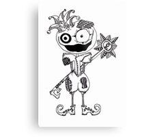 I am the Fool, I jest you not. Metal Print