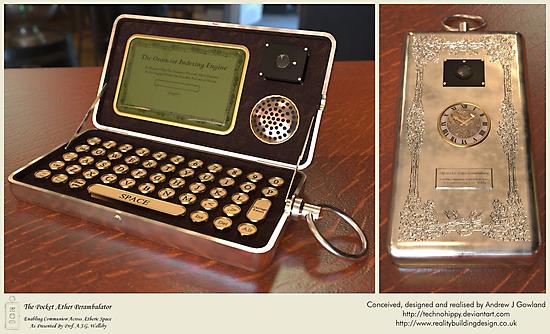 The Pocket Æther Perambulator by Technohippy