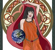 Gaia Is Coming by redqueenself