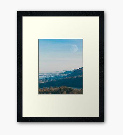 Abernethy view 1.0 Framed Print