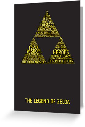 Legend of Zelda Typography by TitanVex