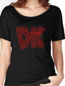 Donkey Kong Poster Women's Relaxed Fit T-Shirt