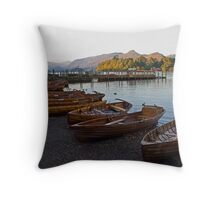 Keswick Boat Landing Throw Pillow