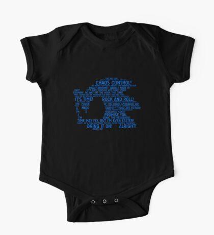 Sonic Typography Kids Clothes