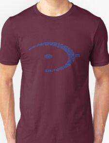 Halo Typography [Blue] T-Shirt