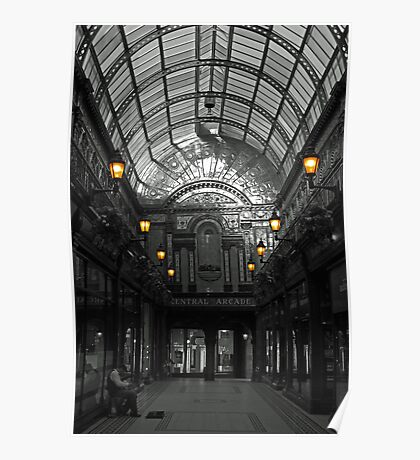 Newcastle's Central Arcade Poster