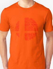 Super Smash Bros. Typography T-Shirt