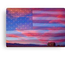 Rural Rustic America Canvas Print