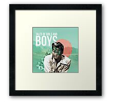 tales of boys and girls Framed Print