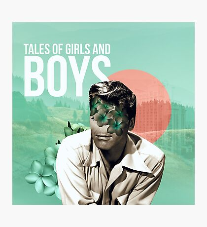 tales of boys and girls Photographic Print