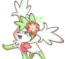 Shaymin (Sky Form) - Pokémon by PepsHiddles