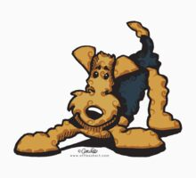 Airedale @ Play by offleashart