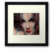 Where Do You Go My Lovely Framed Print
