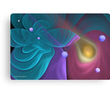 Abstract in Pastel Canvas Print