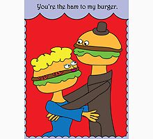 Hamburgers in Love Unisex T-Shirt