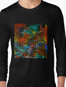 Story Bridge & Hotel, Brisbane. Long Sleeve T-Shirt