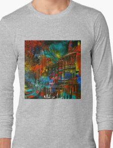 Story Bridge & Hotel, Brisbane. Long Sleeve T-Shirt
