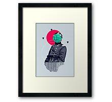 the idea Framed Print