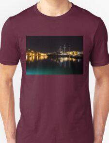 Reflecting on Malta - Vittoriosa and Senglea Megayachts T-Shirt