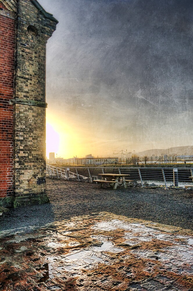 Titanic Series No4. Thompson Drydock Pumphouse by Chris Cardwell
