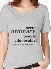 ordinary people Women's Relaxed Fit T-Shirt