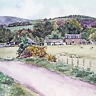 Northmuir Farm, Kirriemuir,Scotland by Joyce Grubb