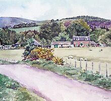 Northmuir Farm, Kirriemuir,Scotland by Joyce Grubb